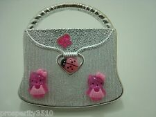 CUTE HELLO KITTY COMPACT MIRROR LADY BUG OR PEARL PURSE Great Gift for Girl