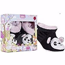 Totes toasties 6-12  12-18 months baby girls slip resistant slippers New in Box