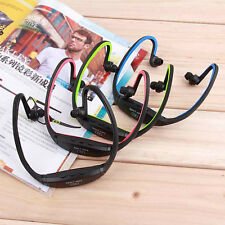 USB Sport Running MP3 Music Player Headset Headphone Earphone TF Slot LH