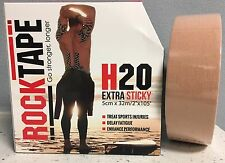 ROCKTAPE Rock Tape NUDE BULK H2O Therapeutic Kinesiology Sports Injuries Rehab