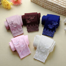 Sweet Children Toddler Baby Trousers Butterfly Lace Girls Leggings Elastic Pants