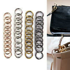 10Pcs New Metal HIgh Quality Women Man Bag Accessories Rings Hook Key Chain Bag.