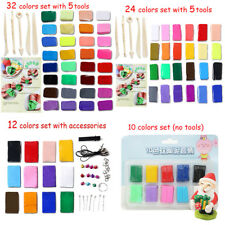 32/24/12 colors DIY Fimo Clay Oven Bake Toys Mould Polymer Plasticine Sculpey