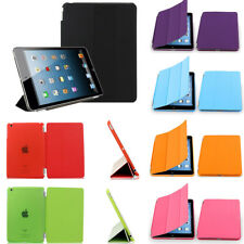 Magnetic Smart Folios Case Cover Stand PU Leather Case Back Case For iPad mini 2