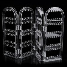 Creative Plastic Folding Screen Earring Jewelry Display Stand Holder Rack ZCH