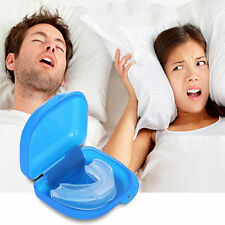 Stop Snoring Anti Snore Mouthpiece Apnea Guard Bruxism Tray Sleeping Aid Hot CH