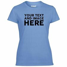 Custom Printed Personalised Ladies T-Shirts Birthday, Hen Party And Baby Shower