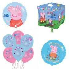 Official Peppa Pig Friends Balloon Birthday Party Event Decoration Gift Girl Boy