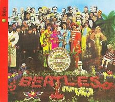 THE BEATLES - Sgt. Pepper's Lonely Hearts Club Band (CD, 2009 Remaster, Apple)