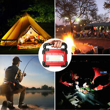 Led work light rechargeable Flood Light Hand Lamp Camping Lantern for Hiking New