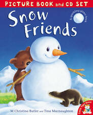SNOW FRIENDS PICTURE BOOK AND CD SET