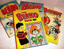 VINTAGE ANNUALS > BEANO, DANDY & more 1950/90 click Select to browse or order