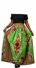 Women Traditional African Ankara Print Dashiki Skirt