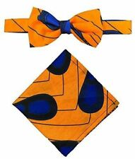 Men's African Ankara Wax Print Bow Tie