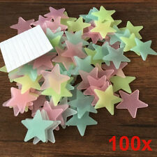 Glow In The Dark Stars Wall Stickers Children Home Decal Bedroom Decoration