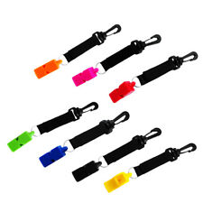 Emergency Survival Rescue Safety Whistle with Hook & Loop Kayaking Diving