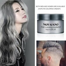 Men Women DIY Hair Color Wax Mud Dye Cream Temporary Modeling Mascara 7 Color EN