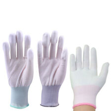 10Pair Anti Skid Gloves Safe Gloves PU Coated Glove for Finger Protection