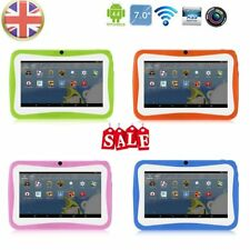 "7"" Kids Tablet PC 1.5GHZ Quad Core 8GB WIFI Android Tablet 1024x600 Screen NEW e"