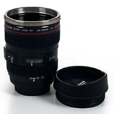 Travel Coffee Mug Cup Lid Detailed Insulated Stainless Steel Camera Lens Hot New