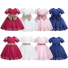 Pageant Flower Girl Princess Dress Baby Toddler Party Wedding Bridesmaid Tutus