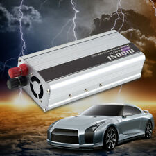 1500W 150W Car DC 12V to AC 220V Power Inverter Charger Converter LOT UN