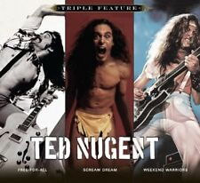 Ted Nugent - Triple Feature (CD Used Like New)