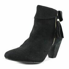 Report Womens Moriah Suede Closed Toe Ankle Fashion Boots