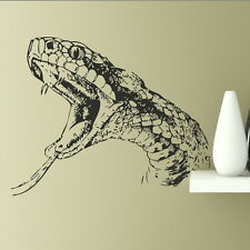 Snake Head - Reptile Wall Stickers Vinyl Decal / Removable Reptile transfer RA4