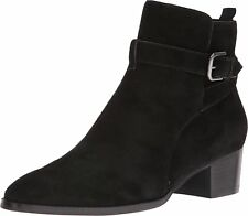 Marc Fisher Womens RAZZLE Leather Pointed Toe Ankle Fashion Boots
