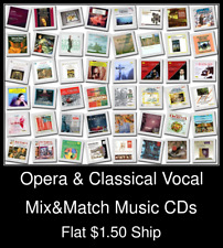 Opera & Classical Vocal(2) - Mix&Match Music CDs U Pick *NO CASE DISC ONLY*