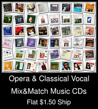 Opera & Classical Vocal(4) - Mix&Match Music CDs U Pick *NO CASE DISC ONLY*