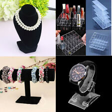 4type Mannequin Necklace Jewelry Pendant Display Stand Holder Show Decorate RJ