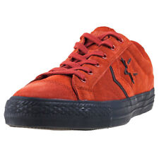 Converse Star Player Ox Mens Trainers Burnt Henna New Shoes