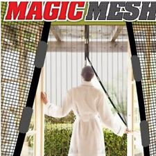 US Anti-Insect Fly Bug Mosquito Door Window Curtain Net Mesh Screen Protector q@