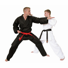 Adult Karate Gi White or Black Lightweight Student Karate Suit Gi Master