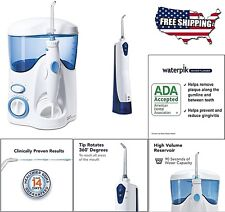 Cordless Water Flosser For Braces Teeth Brush Tips Countertop Portable Waterpik