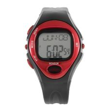Pulse Heart Rate Monitor Calories Counter Fitness Watch Time Stop Watch Alarm MC
