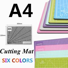 A4 Hobby&Craft Cutting Mat 300mm*220mm 1cm Square Grid Line For Fast Cutting ME
