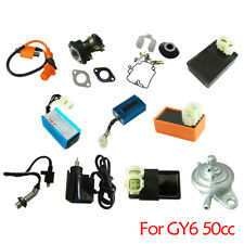 Fit GY6 50cc Moped Scooter Roketa Ignition Coil Module,CDI Ignition AC DC,Carb