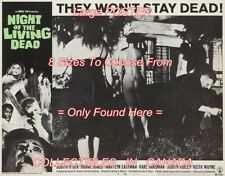 """NIGHT OF THE LIVING DEAD 1968 Walking Dead ZOMBIES 3 = POSTER 8 SIZES 18"""" - 36"""""""