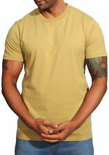 Tan Basic T-Shirt by Franklin and Marshall - TSMF089