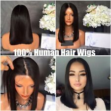 Women's Lace Front Human Hair Lace Wig Brazilian Remy Short Bob Lace Front Wigs