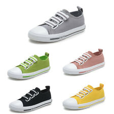 Kids Boys Girls Canvas casual Shoes Sports Childrens Sneakers Running Breathable