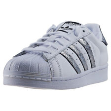 adidas Superstar Womens Trainers White Black New Shoes