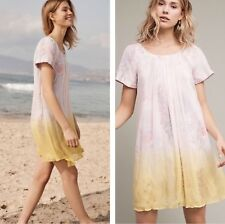 Anthropologie Chroma Dipped Swing Dress By HD in Paris 0P 2 4 6 NWT Retail $168