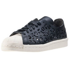adidas Superstar 80s Cut Out Womens Trainers Black White New Shoes