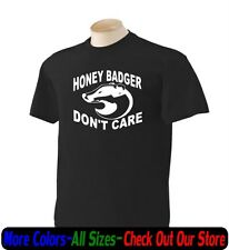 Honey Badger Dont care Funny Gildan T Shirt