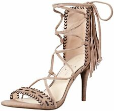 Jessica Simpson Womens Mareya Leather Open Toe Special Occasion Ankle Strap S...