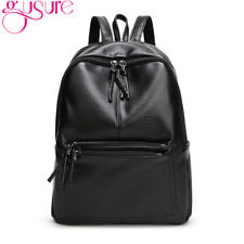 GUSURE New Fashion Backpack for Women Casual Backpack Leather School Bag Simple